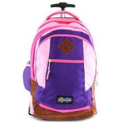 Školní batoh trolley Smash Světle růžová lemovaná tmavě růžovou