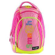 Školní batoh Smash 2v1 Žluto růžový