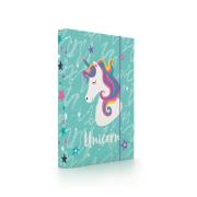 Desky na sešity A5 Unicorn iconic