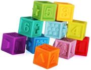 Měkké gumové kostky 10 ks Bam Bam