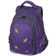 Studentský batoh FAME Bee Violet