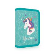 Penál 1 patrový s chlopní, naplněný Unicorn iconic