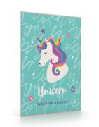 Desky na abecedu Unicorn iconic
