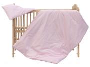 Dětské povlečení 2dílné - Scarlett Blanka - růžové 100 x 135 cm