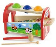 Dřevěná zatloukačka a xylofon