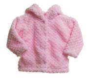 """Kabátek MKcool """"LUNA-2020"""" Růžový s kapucí"""