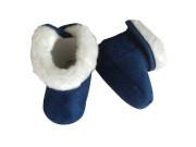 Kojenecké capáčky zimní Pidilidi Námořní modrá
