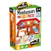 HEADU: Montessori Moje první puzzle - Farma