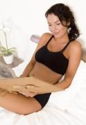 Těhotenská podprsenka vhodná i ke spaní - ČERNÁ