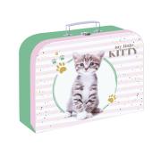 Kufřík lamino 34 cm Kočka