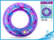 Kruh nafukovací 91cm s barevným peřím