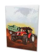 Desky na abecedu Traktor
