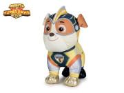 Paw Patrol Super Mighty Pups plyšoví 19 cm - Rubble