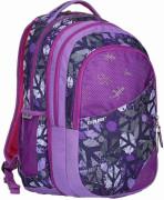 Studentský batoh 2v1 DANIEL Peace purple