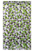 Funkční tunel- multifunkční šátek se zelenými trojúhelníky RDX
