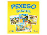 Pexeso Stavitel 64 ks