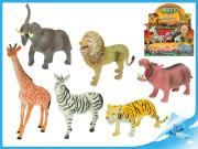 Zvířátka safari 15-20cm 6druhů