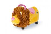 Odrážedlo Funny Wheels Rider Ride-On lvíček 50 cm plyšový růžový