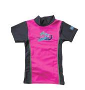 Plážové UV triko Růžové