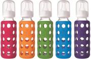 Lifefactory kojenecká láhev 250ml