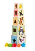 Věž z 5ti kostek ´´Zvířátka´´