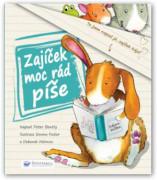 Zajíček moc rád píše