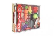 Zelenina krájecí plast se struhadlem s nožem se škrabkou v krabici 30x24x6cm