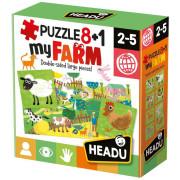 HEADU: Puzzle 8+1 Moje farma