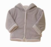 Kabátek Thermo oboustranný s kapucí MKCool Tmavě šedý