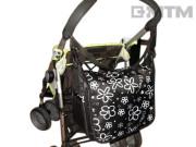 Taška s klopou na kočárek, různé designy