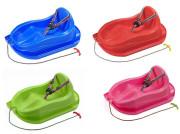Plastové sáňky s opěradlem Bayo mini
