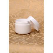 Plastová dózička bílá 100 ml