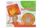 Výrobek ze sádry - otisk ruky