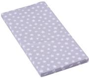 Molitanová matrace do postýlky Scarlett Hvězdička šedá 120 x 60 x 6 cm