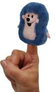 Ježek 8cm, prstový maňásek