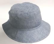 Dívčí plátěný klobouk modrý RDX