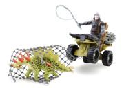 Jurassic Clash Voják s dinosaurem set