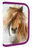Jednopatrový penál plný Kůň 2016 NEW