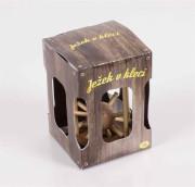 Ježek v kleci dřevěný Albi