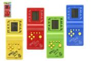 Digitální hra Brick Game Tetris padající kostky