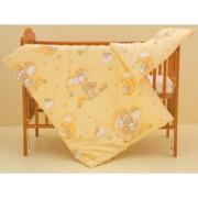 Dětské povlečení 2dílné Mráček žlutá 120 x 90 cm Scarlett