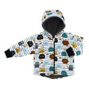 Dětská zimní bunda BIO Příšerky