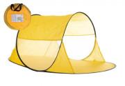 Stan plážový žlutý 140x70x62 cm samorozkládací