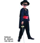 Kostým na karneval - bandita, 120-130 cm