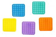 Bubble pops - Praskající bubliny antistresová hra Čtverec 12,5x12,5 cm
