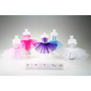 šaty pro panenky velikostí Barbie - baletky