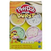 Play-Doh Barevné balení modelíny Bílá/žlutá/zelená