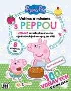 Vaříme a mlsáme Prasátko Peppa - samolepková knížka s recepty