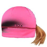 Dívčí funkční čepice Picowinter s otvorem na culík reflexní Růžová RDX