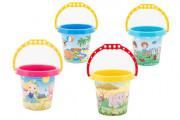 Plastový kbelík na písek 15x13 cm